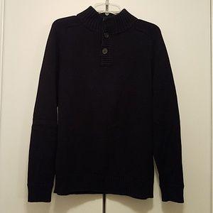 Jcrew men's navy pullover sweater